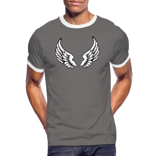 Angel Wings - Men's Ringer Shirt