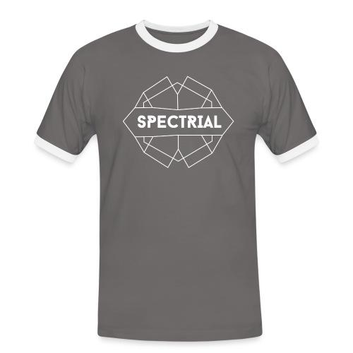 Spectrial Logo - Mannen contrastshirt