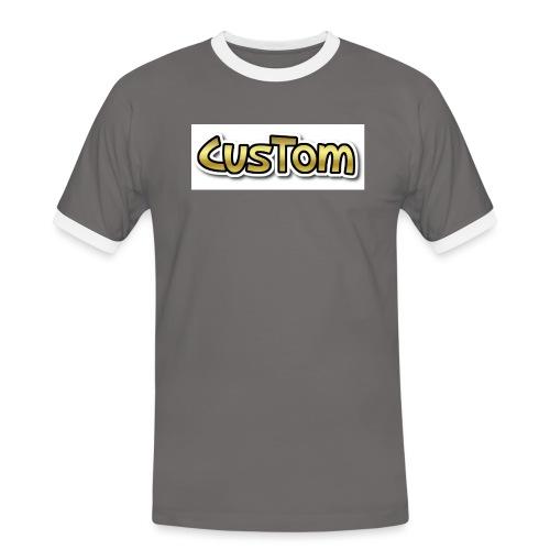 CusTom GOLD LIMETED EDITION - Mannen contrastshirt