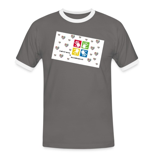 Bestsellers Out Of Area - Mannen contrastshirt