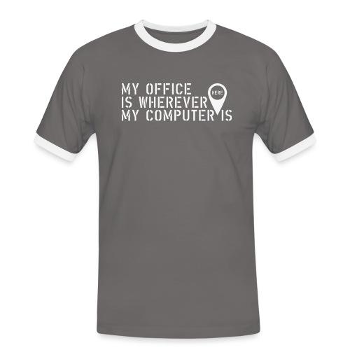 Wherever - Camiseta contraste hombre