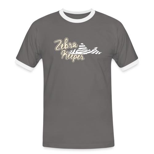 Zebra Keeper - T-shirt contrasté Homme