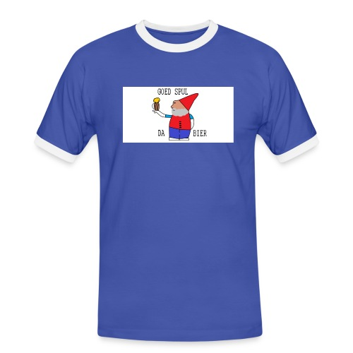 BIER KUT! - Mannen contrastshirt