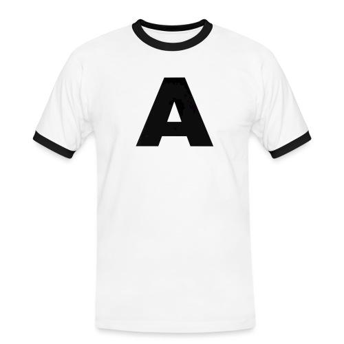 A-685FC343 4709 4F14 B1B0 D5C988344C3B - Herre kontrast-T-shirt