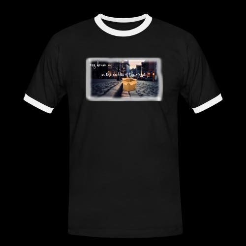 HOUSE SERIES - Mannen contrastshirt