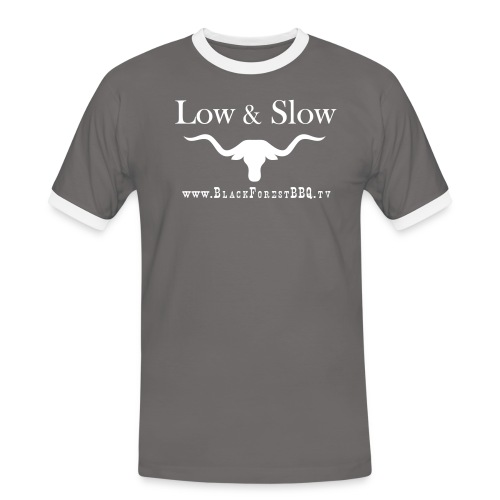 VEC low Slow - Männer Kontrast-T-Shirt