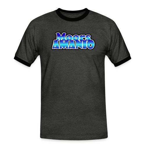 MoorsAmanioLogo - Mannen contrastshirt