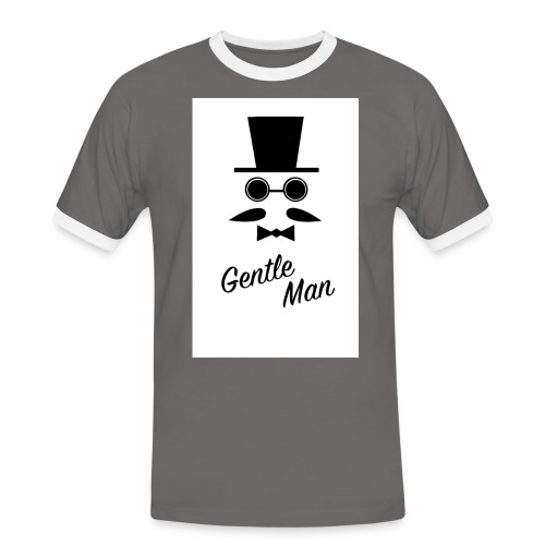 Gentle man - Men's Ringer Shirt