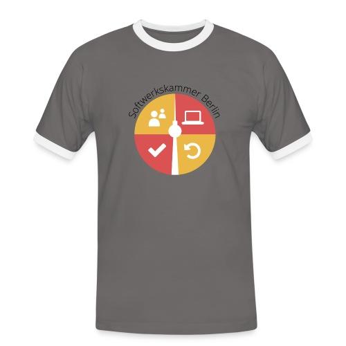 swk logo normal png - Men's Ringer Shirt