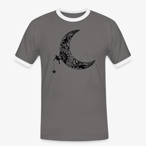 Luna - climb to the stars - Men's Ringer Shirt