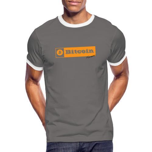 Bitcoin Forever - T-shirt contrasté Homme