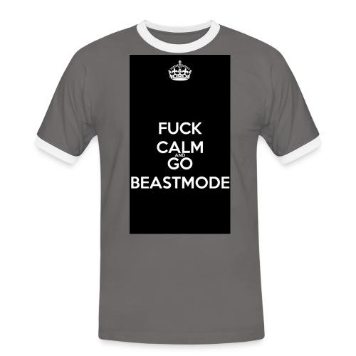 Go Beast-Mode - Men's Ringer Shirt