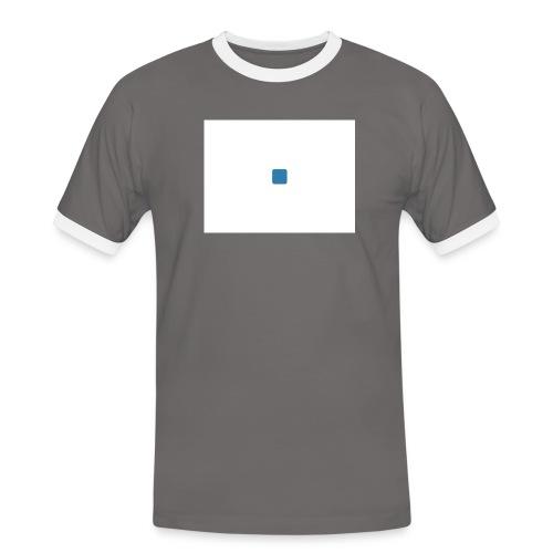 test - Mannen contrastshirt