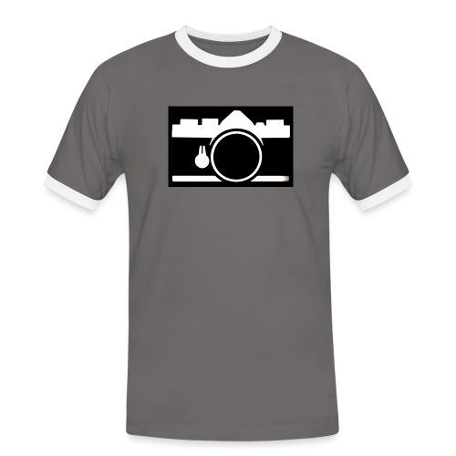 Vintage Camera - Maglietta Contrast da uomo