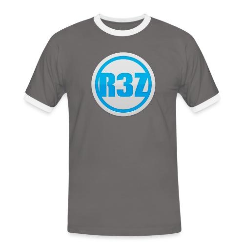 RezTv Logo - Miesten kontrastipaita