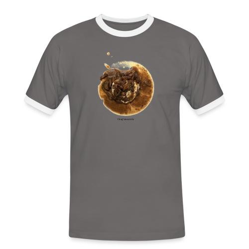 Oeuf Meurette - T-shirt contrasté Homme