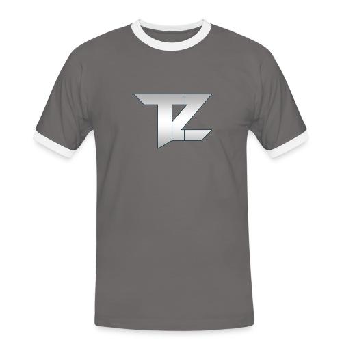 TZ LOGO Gradient png - Men's Ringer Shirt