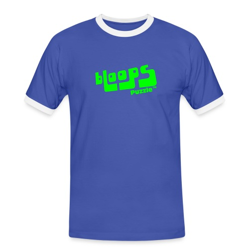 Women's Organic Tank Top bLoops Puzzle™ - Mannen contrastshirt