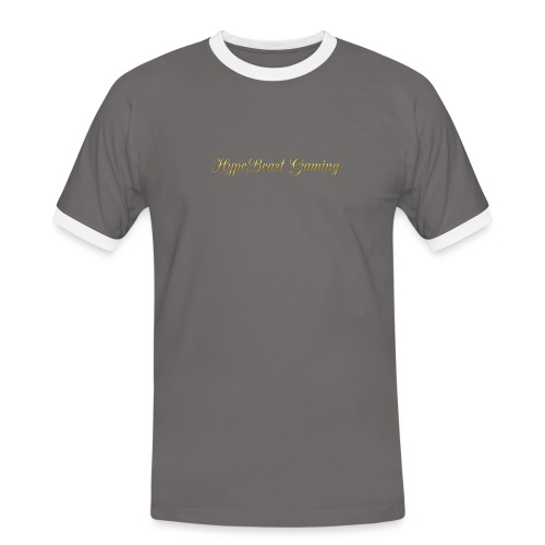 HBG Cool Handwriting - Men's Ringer Shirt