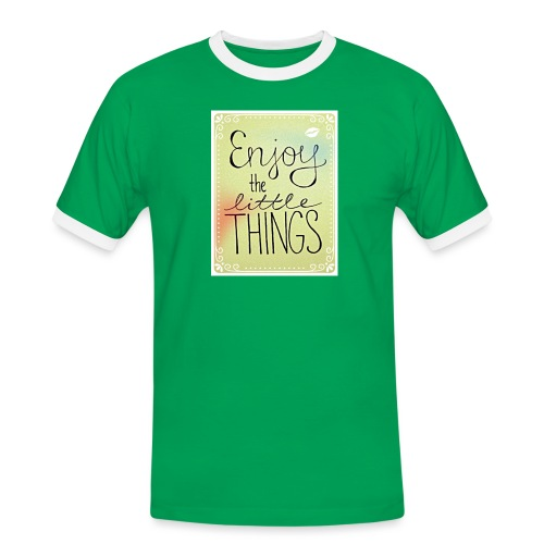 LITTLE_THINGS - Mannen contrastshirt