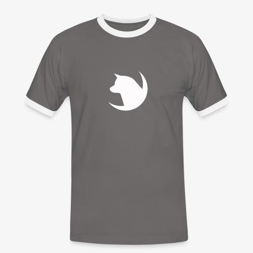 LOGO bianco png - Maglietta Contrast da uomo