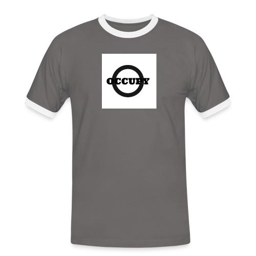 OCCUPY-jpg - Maglietta Contrast da uomo