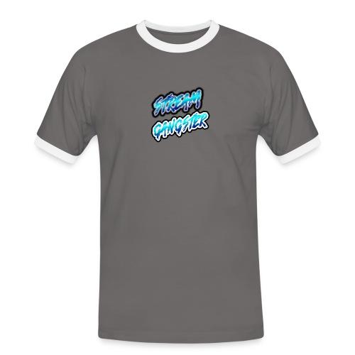 StreamGangsterMerchandise - Mannen contrastshirt