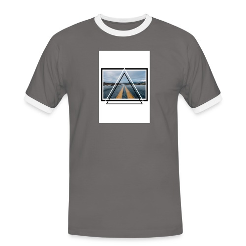 On the Road - T-shirt contrasté Homme