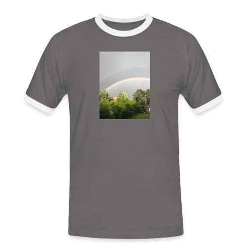 Arcobaleno - Maglietta Contrast da uomo