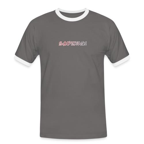 logoshirts - Mannen contrastshirt