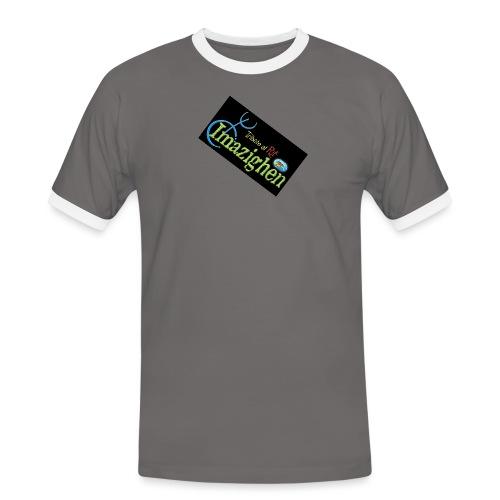 Imazighen ithran rif - Mannen contrastshirt