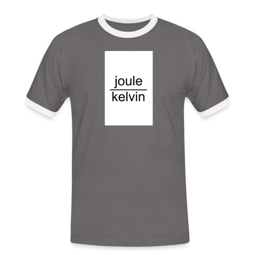 J/K unità di misura dell'ENTROPIA - Maglietta Contrast da uomo