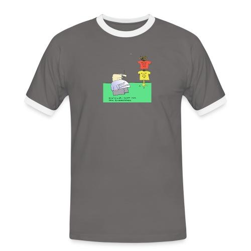 nicht zuständig - Männer Kontrast-T-Shirt