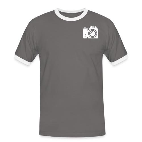 Mittelformat - Männer Kontrast-T-Shirt