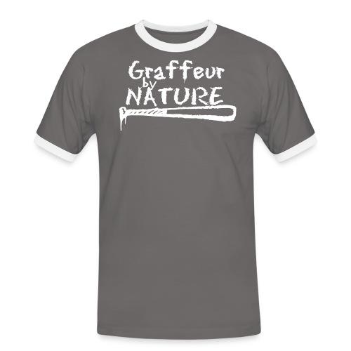 graffeur by nature - T-shirt contrasté Homme
