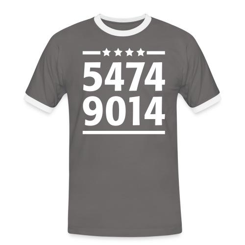 4sterne01 - Männer Kontrast-T-Shirt