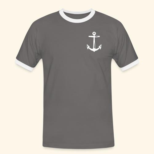 schlageranker01 - Männer Kontrast-T-Shirt