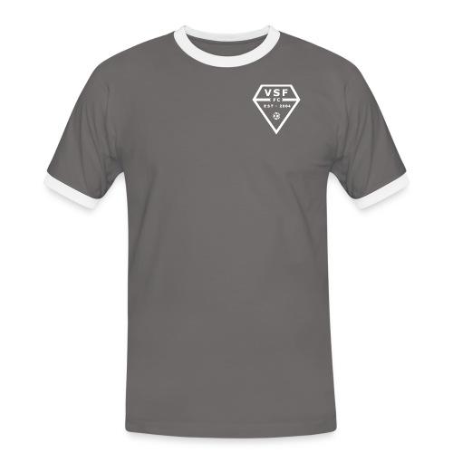 VSF TEAMLOGO2014 gif - Kontrast-T-skjorte for menn
