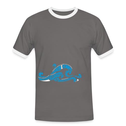EZS T shirt 2013 Front - Mannen contrastshirt