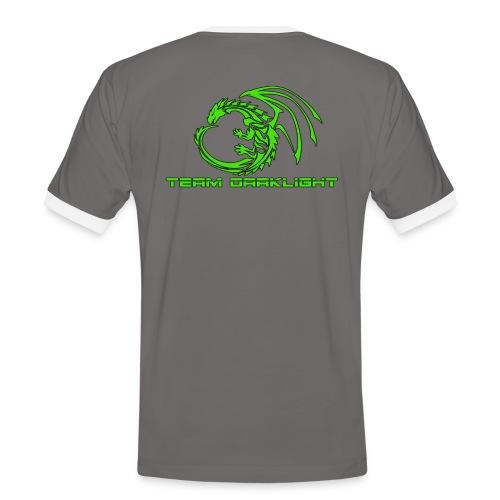 TEAM DARKLIGHT SHOP - Herre kontrast-T-shirt
