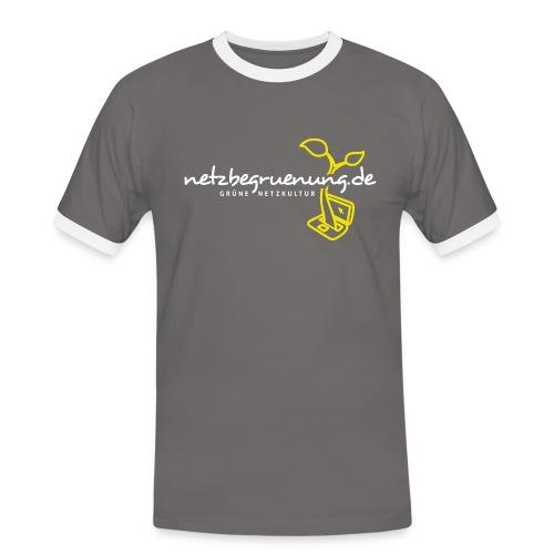 g4129 png - Männer Kontrast-T-Shirt