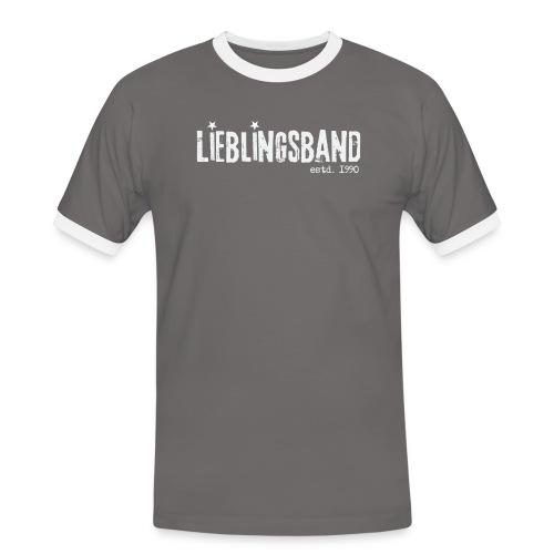 Schriftzug ohne Hintergrund png - Männer Kontrast-T-Shirt