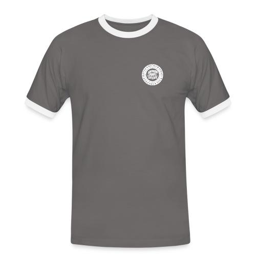 jacksonspider weiss - Männer Kontrast-T-Shirt