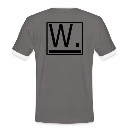 W. - Mannen contrastshirt