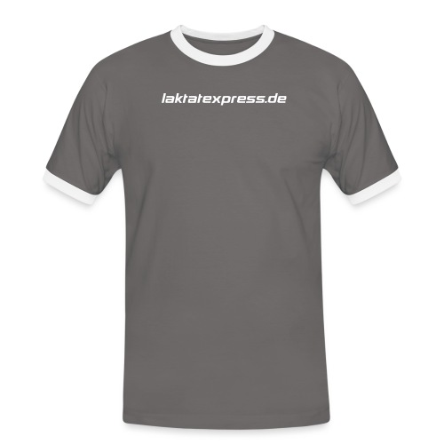 le3 png - Männer Kontrast-T-Shirt