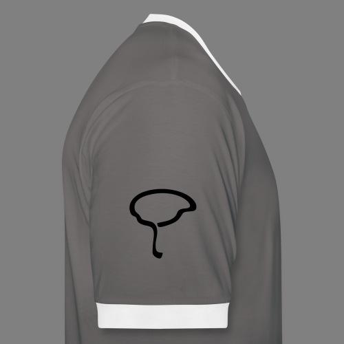 MBS_Logo_Version_1 - Männer Kontrast-T-Shirt