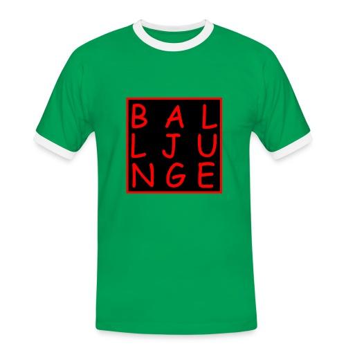 Balljunge - Männer Kontrast-T-Shirt