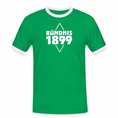 Bündnis 1899 Raute - Männer Kontrast-T-Shirt