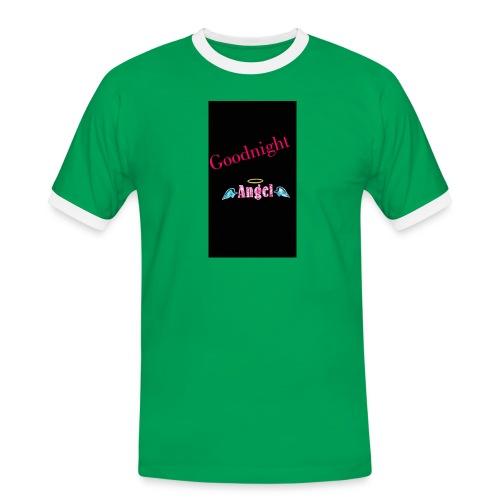 goodnight Angel Snapchat - Men's Ringer Shirt