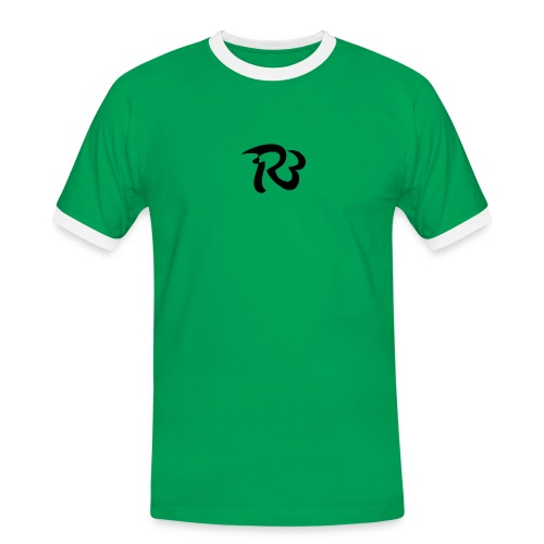 R3 MILITIA LOGO - Men's Ringer Shirt